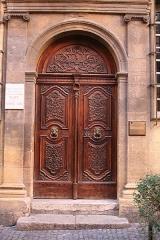 Hôtel d'Estienne de Saint-Jean, actuellement Musée du Vieil Aix - Français:   Hôtel d\'Estienne de Saint-Jean, Aix-en-Provence (France).