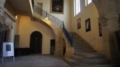Hôtel d'Estienne de Saint-Jean, actuellement Musée du Vieil Aix - Français:   Escalier intérieur de l\'hôtel d\'Estienne-de-Saint-Jean, à Aix-en-Provence