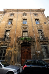 Hôtel de Panisse - This building is indexed in the Base Mérimée, a database of architectural heritage maintained by the French Ministry of Culture,under the reference PA00081045 .