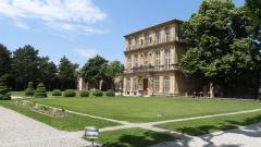 Pavillon de Vendôme (ou de la Molle) -  Aix-en-Provence. Pavillon Vendôme.