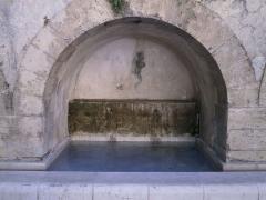Thermes romains (vestiges) - English: Aix en Provence  - Thermae Sextii - small bath/basin
