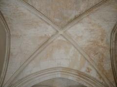 Archevêché - Arles (Bouches-du-Rhône, France), à l'est de la place de la République, palais archiépiscopal, voûte de la chapelle.
