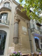 Colonnes dites de Saint-Lucien - Français:   Colonnes de Saint-Lucien à Arles