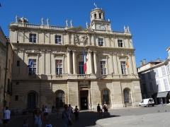 Hôtel de ville - Français:   Hôtel-de-Ville (Classé Classé Classé) Vu Place de la République
