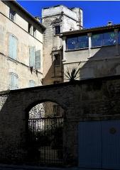 Hôtel Laugier de Montblanc ou maison Genin - English: Hotel Laugier de Montblanc - Arles (Bouches-du-Rhône, France)