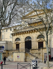 Temple Protestant - English: Temple - Arles (France)