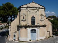 Chapelle des Pénitents Blancs - Français:   Chapelle des pénitents blancs Aubagne