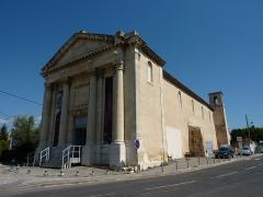 Chapelle des Pénitents Noirs - Français:   Chapelle des pénitents noirs (Aubagne, Bouches-du-Rhône, France)