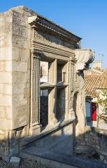 Hôtel de Manville - English: Hôtel de Manville. Les Baux-de-Provence, Bouches-du-Rhône, France