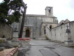 Chapelle de Saint-Marcellin - English: Boulbon (Bouches-du-Rhône, Fr) église du prieuré St.Marcellin