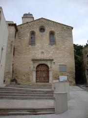 Eglise Sainte-Anne - English: Boulbon (Bouches-du-Rhône, Fr) former church Saint Anne