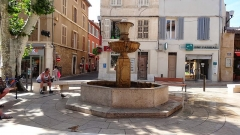 La fontaine du 18s - This building is indexed in the Base Mérimée, a database of architectural heritage maintained by the French Ministry of Culture,under the reference PA00081235 .