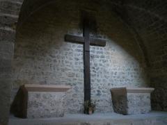 Abbaye de Saint-Pons - Français:   Intérieur de l\'Abbaye de Saint Pons de Gemenos