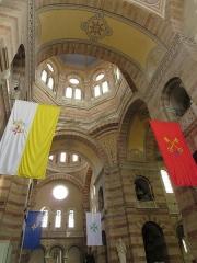 Cathédrale Sainte-Marie-Majeure, dite Nouvelle Major - Deutsch: Marseille, Cathédrale de la Major de Marseille, Decke