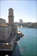 Fort Saint-Jean -  Fort Saint-Jean à Marseille