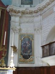 Eglise Sainte-Madeleine de l'Ile - Français:   A Martigues (Bouches-du-Rhône, France), dans le quartier de l\'Île, intérieur de l\'église La Madeleine, partie nord ou droite du chœur.