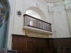 Eglise Sainte-Madeleine de l'Ile - Français:   A Martigues (Bouches-du-Rhône, France), dans le quartier de l\'Île, intérieur de l\'église La Madeleine.