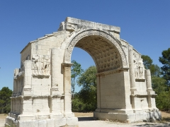 Arc de triomphe - Français:   Arc de triomphe de Glanum