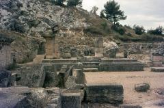 Fouilles de Glanum -   Hercules\' temple, in Glanum.