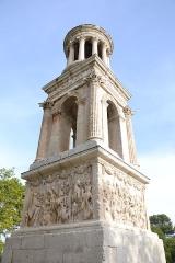 Mausolée dit Tombeau des Jules - Français:   Mausolée de Glanum (Classé)