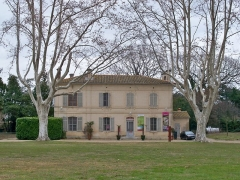 Domaine du château d'Avignon - Château d'Avignon (Classé)