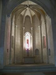 Château du Roi René - Chapelle basse du Chateau de Tarason (13)
