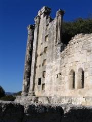 Temple de la Maison-Basse dit de Château-Bas - Français:   Temple romain de Château-Bas