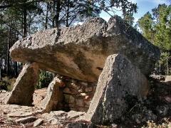 Dolmen n° 3 des Adrets - Français:   Brignoles Dolmen Adrets-1
