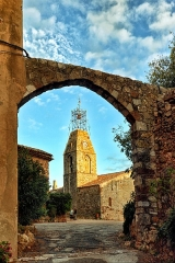 Eglise du Vieux-Canet -  Le Cannet-des-Maures, Var (Provence) - Église du Vieux-Cannet, protégée depuis 1862