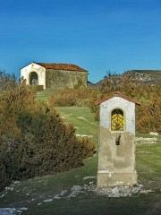 Chapelle des Templiers - English: Canjuers military camp (Var), Notre-dame Chapel in Devenset, so-called