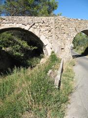 Aqueduc des Cinq-Ponts - English: Aqueduc des Cinq Ponts - Detail - Cuers - Var - France
