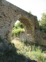 Aqueduc des Cinq-Ponts - English: Aqueduc des Cinq Ponts Detail - Cuers - Var - France