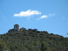 Château (ruines) - English: Forcalqueiret LeCastellas North view (detail)