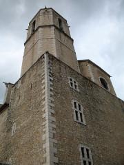 Eglise collégiale Saint-Martin - English: Collegiale St-Martin (steeple) Lorgues
