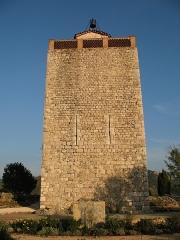 Tour dite du village - English: Village Tower of Le Revest Les Eaux (Le Revest-les-Eaux, Var, France)