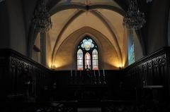 Ancienne abbaye - Intérieur de l'Eglise Collégiale et Paroissiale de St Hippolyte.