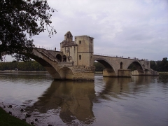 Chapelle et pont Saint-Bénézet - English: Photographer: User:Ballista