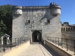 Chapelle et pont Saint-Bénézet - Français:   Porte menant au pont Saint Bénezet à Avignon