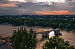 Chapelle et pont Saint-Bénézet - Français:   Pont Saint-Bénezet, dit Pont d\'Avignon