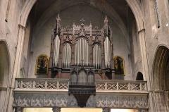 Eglise Saint-Didier - Orgue de la collégiale Saint Didier d'Avignon.