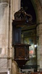 Eglise Saint-Didier - Collégiale Saint-Didier (Classé): chaire