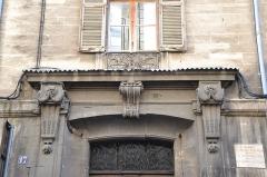 Hôtel de Chanciergues - Français:   Hôtel de Chanciergues élévation, toiture (Inscrit)