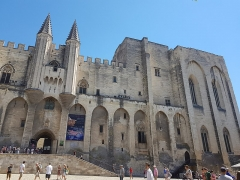Palais des Papes - This building is indexed in the Base Mérimée, a database of architectural heritage maintained by the French Ministry of Culture,under the reference PA00081941 .