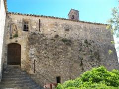 Château du Barroux - Château du Barroux château, chapelle, mur (Inscrit Classé): Chapelle
