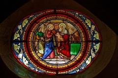 Eglise Saint-Michel - English: Vitrail dans l'église Saint-Michel (à refaire)