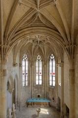 Eglise Saint-Michel - English: Vue générale intérieure de la chapelle Saint-Claude. Achevée en 1527, cette chapelle resta la propriété de la maison d'Ancézune jusqu'en 1792, elle fut rendue à la communauté de la ville en 1802.