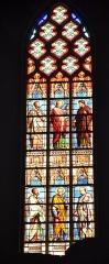 Eglise Saint-Siffrein, ou ancienne cathédrale - Français:   Cathédrale Saint Siffrein: un des vitraux