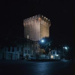 Porte d'Orange - Français:   Porte d\'Orange de Carpentras, 1969. Photo prise par mon grand-oncle Marcel Besnard (1913-1998).