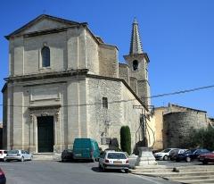 Eglise Saint-Symphorien -  the village of Caumont-sur-Durance (Vaucluse, France)
