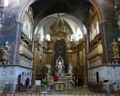 Eglise paroissiale Notre-Dame-des-Anges - Français:   Chœur vu de loin